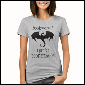 Book dragon shirt